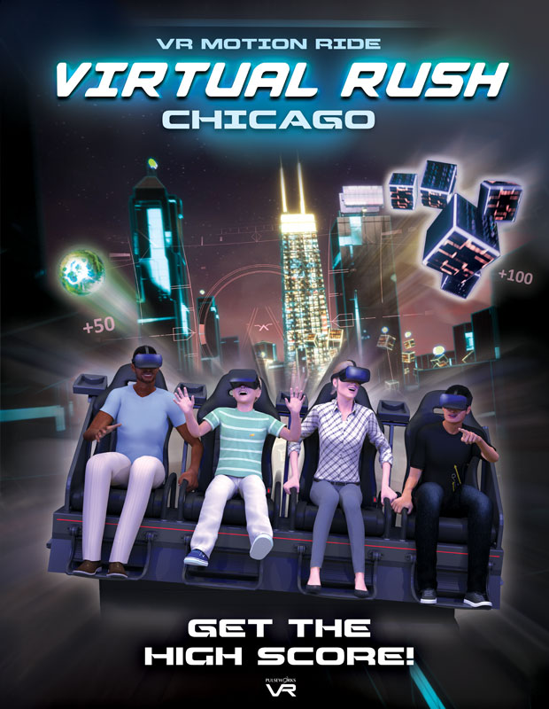 Pulseworks - Virtual Rush: Chicago